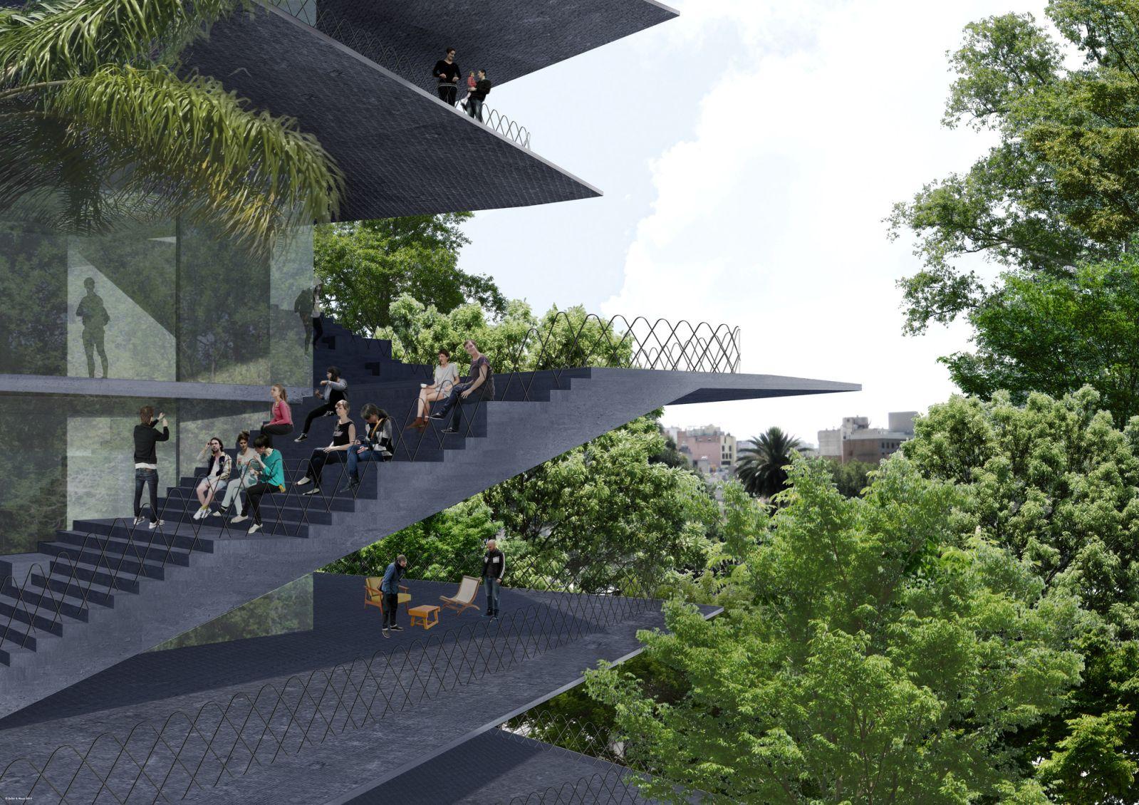 Thiết kế cho tòa nhà mới ở mexico 3