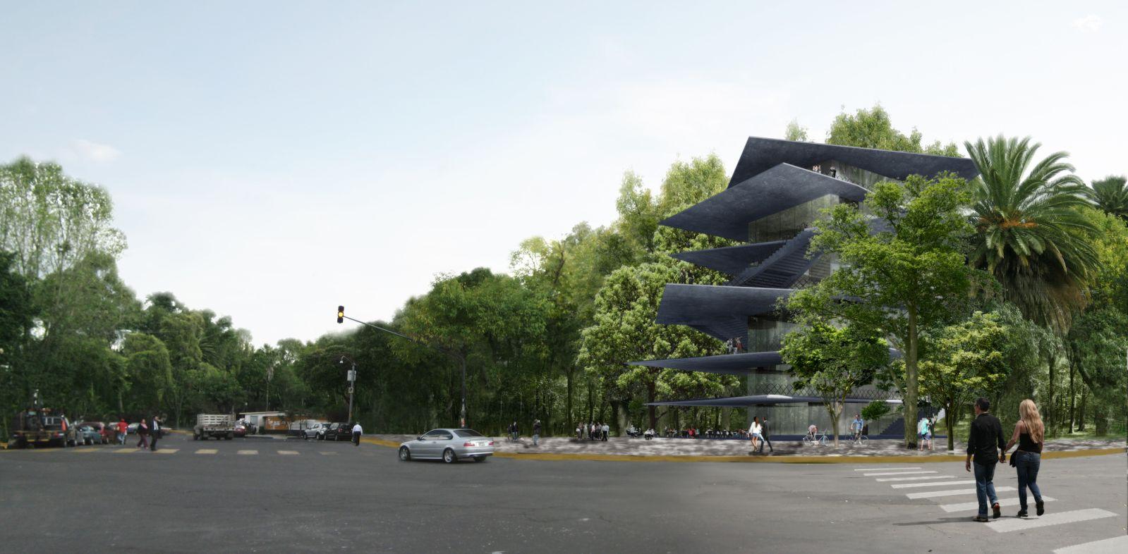 Thiết kế cho tòa nhà mới ở Mexico - 1