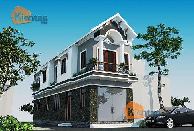 Thiết kế nhà phố tại Bắc Giang