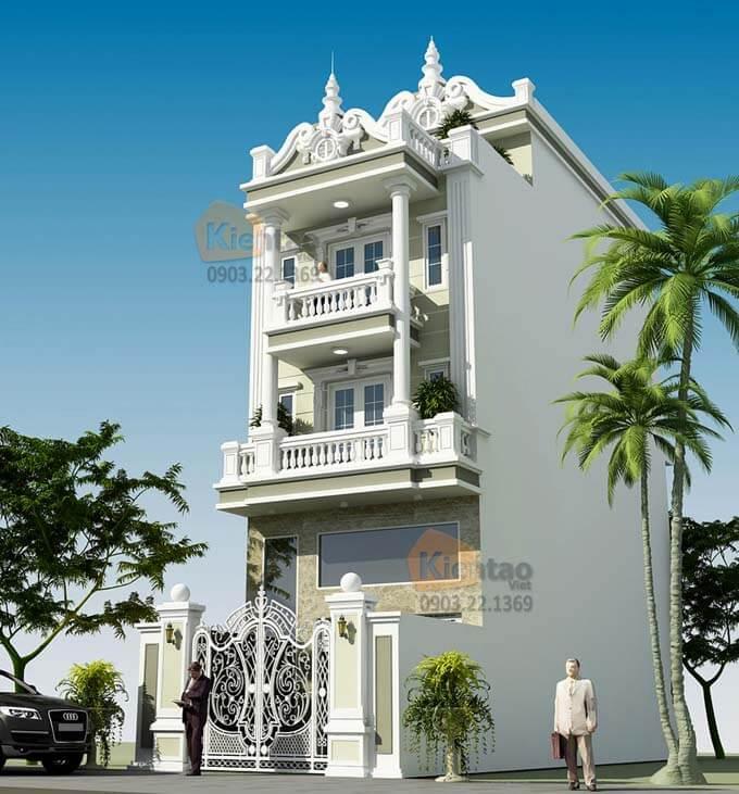 Thiết kế nhà phố đẹp tại Hà Nam