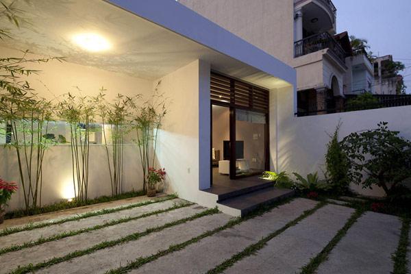 Thiết kế nội thất đẹp kết hợp không gian xanh. Ảnh 10