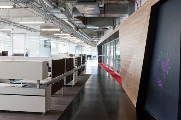 Thiết kế nội thất đẹp văn phòng làm việc Youtube. Ảnh 06