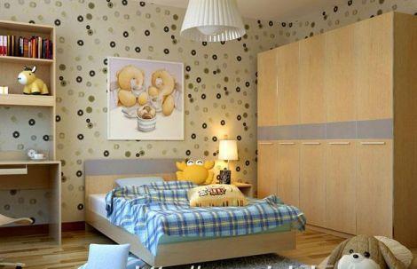 Thiết kế nội thất đẹp với giấy dán tường - Ảnh 03