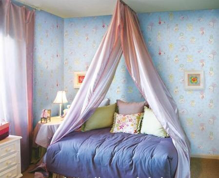Thiết kế nội thất đẹp với giấy dán tường - Ảnh 04