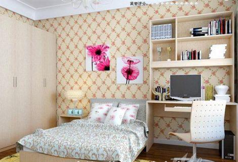 Thiết kế nội thất đẹp với giấy dán tường - Ảnh 05