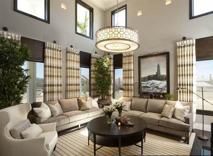 Thiết kế nội thất phòng khách biệt thự 2