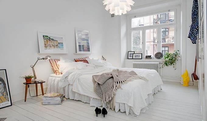 Thiết kế phòng ngủ cho nhà ống