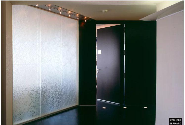 Vật liệu tường độc đáo thay thế gạch nhàm chán. 4