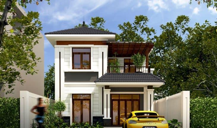 Biệt thự mini nhỏ đơn giản cho các gia đình trong thành phố